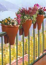 Vaso doppio per balconi euronova sogni di un pollice nero