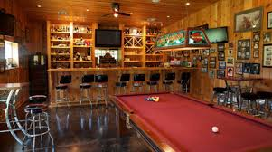 sport corner man cave decor. Everyone Needs A Place To Call Their Own. It Might Be Garage Full Of  Tools And Projects, Relaxing Quiet Area In The Corner Or Even Backyard. Sport Man Cave Decor