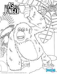Coloriage En Ligne Animaux De La Junglellll