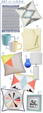 citrus sheet set 4 solid mug 5 triband mug 6 color block pillow 7 cobalt vase 8 table lamp 9 graphic pillow 10 medallion pillow 11