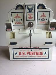 Post Office Stamp Vending Machine Mesmerizing VINTAGE ORIGINAL US Post Office Stamp Coin Operated Vending Machine