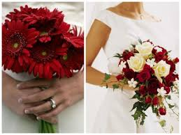 red flowers for wedding. red flowers for weddings (source: magazine.zankyou.com) wedding o
