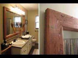Diy mirror frame ideas Decorative Diy Mirror Frame Ideas Youtube Diy Mirror Frame Ideas Youtube