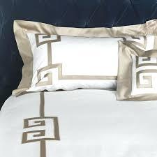 greek key bedding sets bedspread set