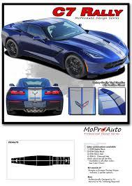 Details About 2014 2019 Chevy Corvette Racing Stripe Dual Hood C7 Rally Vinyl Graphic Stripes