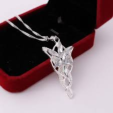 new fashion lord of the rings pendant arwen s evenstar necklace jewerly