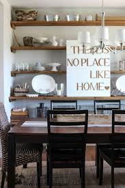 simple dining room shelving ideas and design