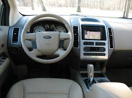 2008 ford edge interior colors. opening the door presents a spacious interior with leather-covered seating surfaces. dash in tester had sage green accents, and that color, 2008 ford edge colors 8