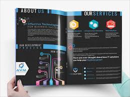 Company Brochure Example 8 Branding Company Brochures Samples Design Templates
