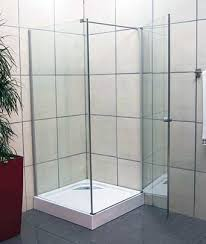 semi frameless enclosures