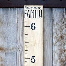 Growth Chart Ruler Decal Little Acorns Diy Vinyl Growth Chart Ruler Decal Kit Our Growing Family Modern
