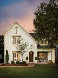 modern rustic renovation mid sized traditional white two story brick gable roof home in birmingham build rustic office