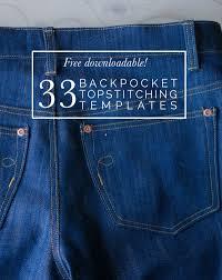 Pocket Jeans Design Free Downloadable 33 Back Pocket Designs Sewing Jeans