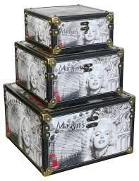 Decorative Storage Boxes Uk 60 Pce Decorative Storage Boxes Marilyn Monroe Storage Boxes 7