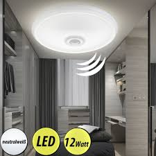 led ceiling lamp with motion sensor for indoor use bild 5