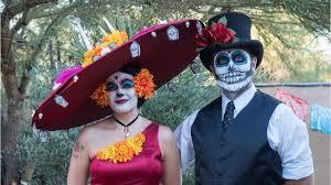 Dia De Los Muertos And Halloween Venn Diagram Day Of The Dead Symbols Meanings