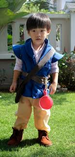 bag as well as attach a pan and knife to go with the costume just like flynn in the the little flynn is very curious of his pan and knife