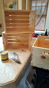 unfinished wooden crates from michael s