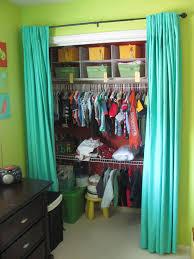 closet door ideas curtain. Create A New Look For Your Room With These Closet Door Ideas Curtain