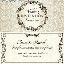 Free Download Wedding Invitation Templates Photoshop Wedding Card Templates Free Download Uunilohi Info