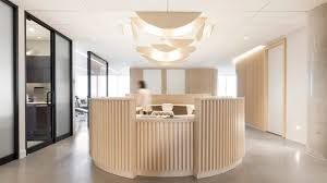Orthodontic Office Design Impressive Natasha Thorpe Uses Timber To Soften Mood At Quebec Dental Office