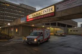 Emergency room prep in 360. A Night In Trauma New Jersey Monthly