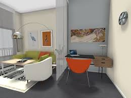 home office room design. RoomSketcher-Home-Office-Ideas-Curtain-Room-Divider Home Office Room Design