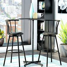 black pub table and chairs 6 contemporary black pub table sets cute furniture with round pub