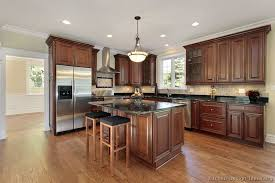 Small Picture Traditional Tuesday Kitchen of the Day Beautiful cherry cabinets