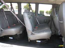 2008 Chevrolet Express LS 3500 Passenger Van interior Photo ...
