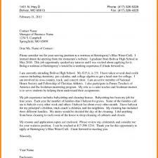 Waitress Job Application Letter Example Archives - Business2Business ...