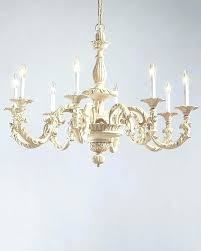 distressed white wood chandelier chandeliers small wooden awesome elegant farmhouse antique 5 l