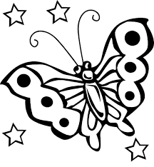 Small Picture Butterfly Star Coloring Pages for our tree Pinterest Butterfly