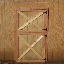 pleted barn door
