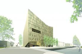 office da architects. Modren Architects Office DAu0027s Proposal For The Daniels Faculty Calls A New Angular Glass  And Steel Faade With Da Architects V