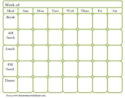 Free Meal Planner Printables Meal Planning Template Printable Vastuuonminun