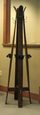 Vintage Ski Coat Rack Vintage Ski Coat Rack Great Idea For Rustic Coat Hanger At A Ski 48
