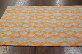 impressive orange and blue area rug designs for grey ordinary in prepare 13