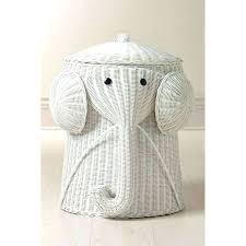 wicker elephant hamper bamboo elephant laundry basket cute wicker elephant  hamper bamboo elephant laundry basket cute