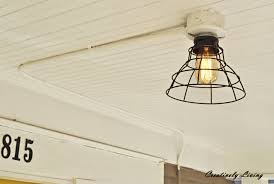 home interior last minute ceiling light fixture for with no electrical wiring without awesome how
