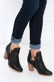 seychelles impossible boots black leather boots ankle boots 159 00