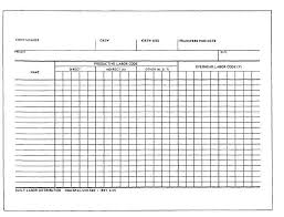Figure 6 23 Daily Labor Distribution Report Form