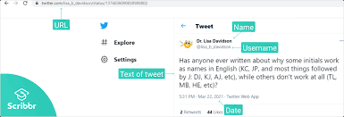 how to cite a tweet in apa style