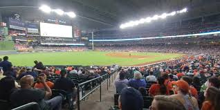 Astros Seating Chart 2018 Minute Maid Park Section 107 Houston Astros