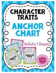 Character Traits Anchor Chart Character Traits Anchor Chart Posters