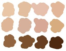 Skin Tone Color Chart Photoshop Coloring With Photoshop Skin Tipsquirrel