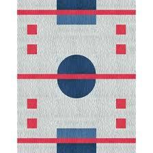 hockey rink rug ice hockey rink area rug