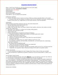 proper resume format 2016 recentresumes com proper required resume format experience summary