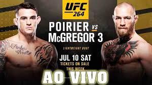 AO VIVO - UFC 264 Conor McGregor VS Dustin Poirier 3 #cfxsports - YouTube