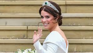 so this is the reason why princess eugenie wore an open back wedding dress